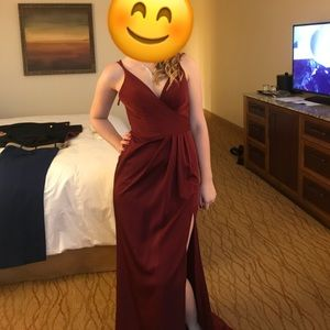 Elegant Faviana ball dress